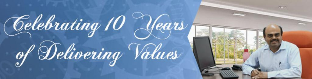 Our decade-long journey of growing together with our clients!